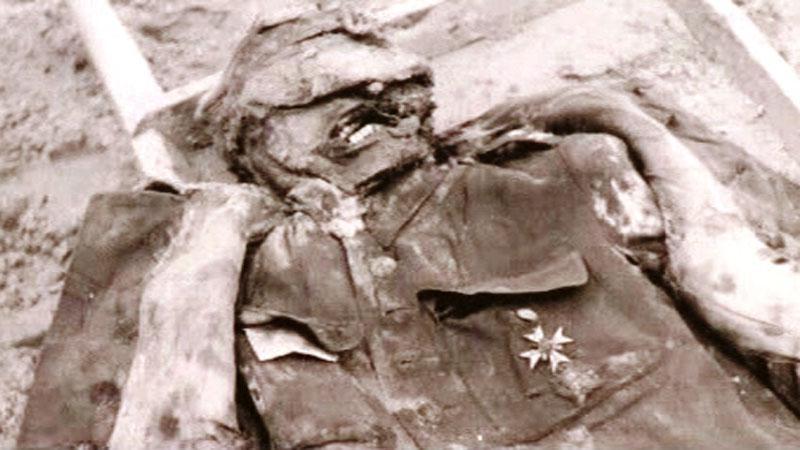 Oběť masakru v Katyni