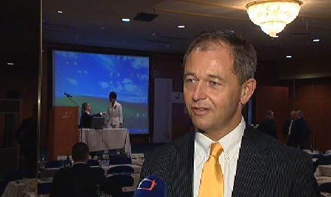 Ředitel Microsoftu pro Evropu Jan Mühlfeit