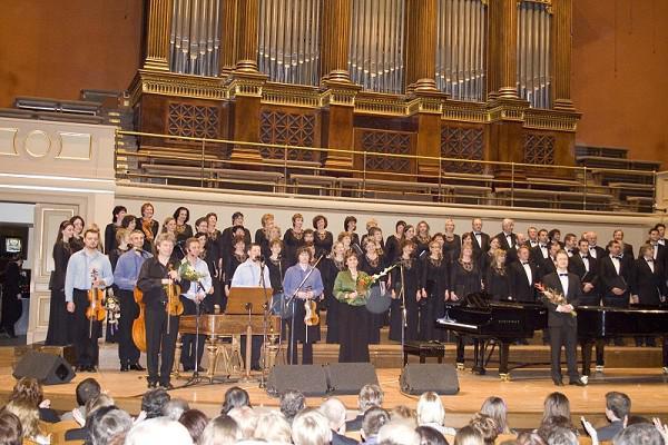 Pražský filharmonický sbor a Hradišťan v Rudolfinu