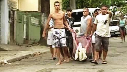 Obyvatelé brazilských chudinských čtvrtí