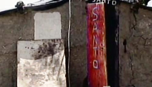 Chatrč, kde se svými dětmi žije znásilňovaná Argentinka
