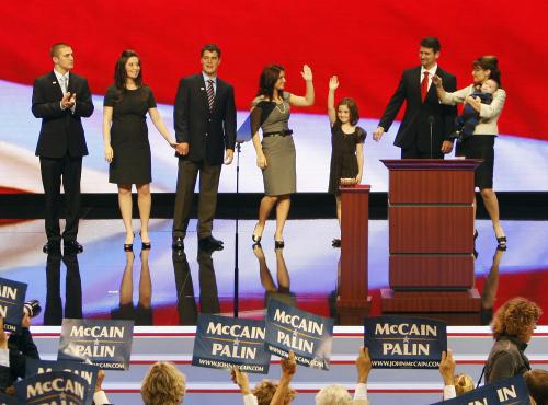 Sarah Palinová s rodinou