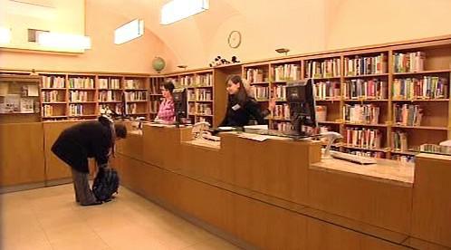 Výpůjční oddělení Vědecké knihovny v Plzni