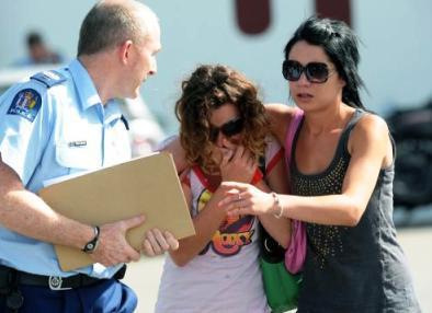 Policie pomáhá truchlícím příbuzným