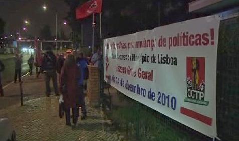 Portugalsko stávkuje