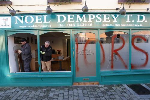Nespokojenost v Irsku