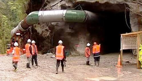 Novozélandští důlní záchranáři