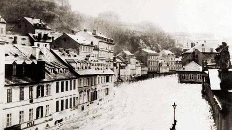 Povodeň v Karlových Varech