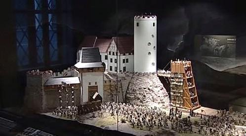Ukázka z nové expozice husitského muzea