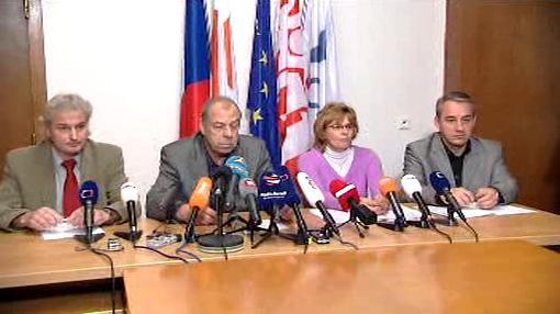 Tisková konference ČMKOS