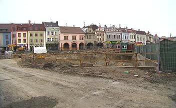 Staroměstské náměstí v Mladé Boleslavi