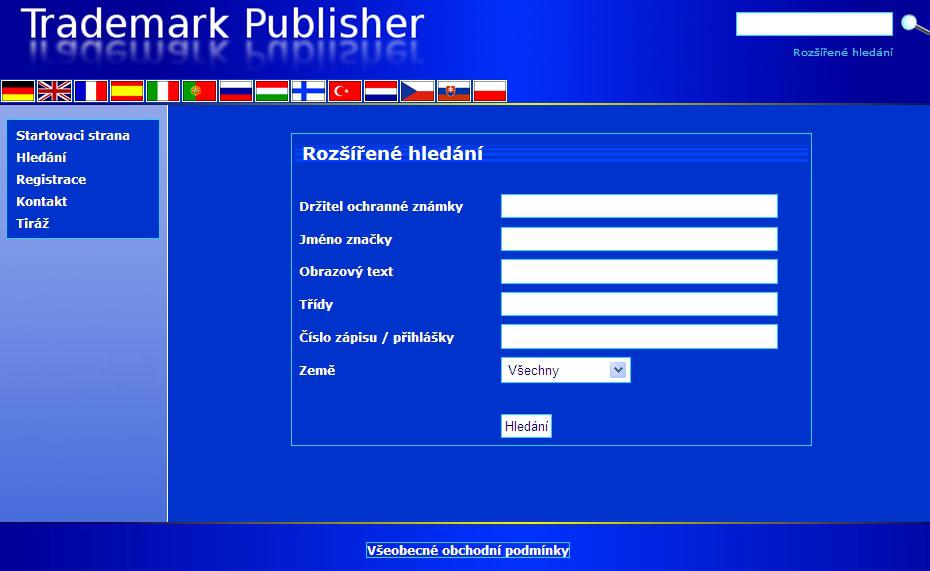 Web Trademark Publisher
