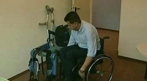 Invalidní vozík a ReWalk