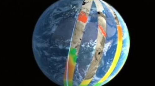 Satelitní monitorování Země