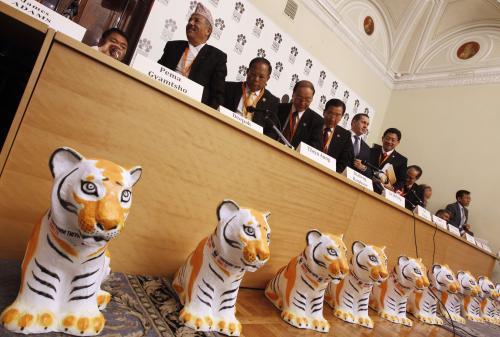 Summit zemí, ve kterých žijí volně tygři