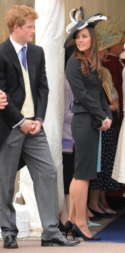 Kate Middletonová s princem Harrym