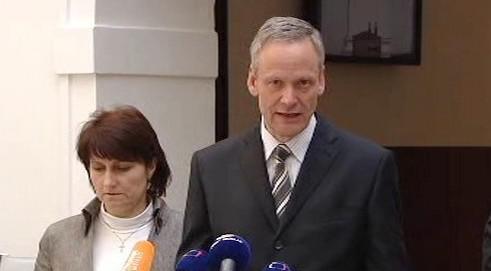 Cyril Svoboda a Michaela Šojdrová