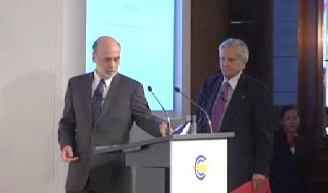 Bernanke a Trichet