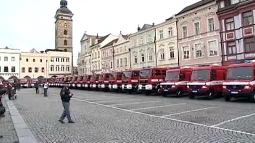 Nová hasičská auta