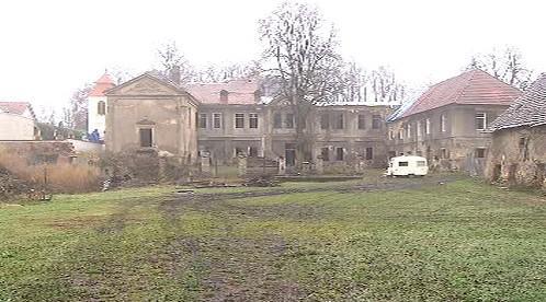 Zámek v obci Koleč na Kladensku