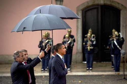 Barack Obama a Anibal Cavaco Silva