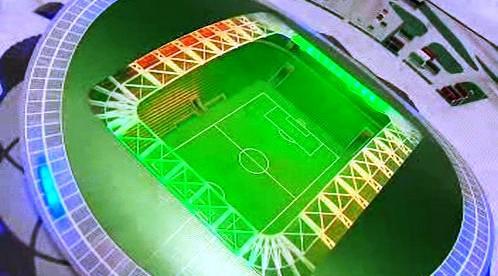 Sportovní stadion v Kazani