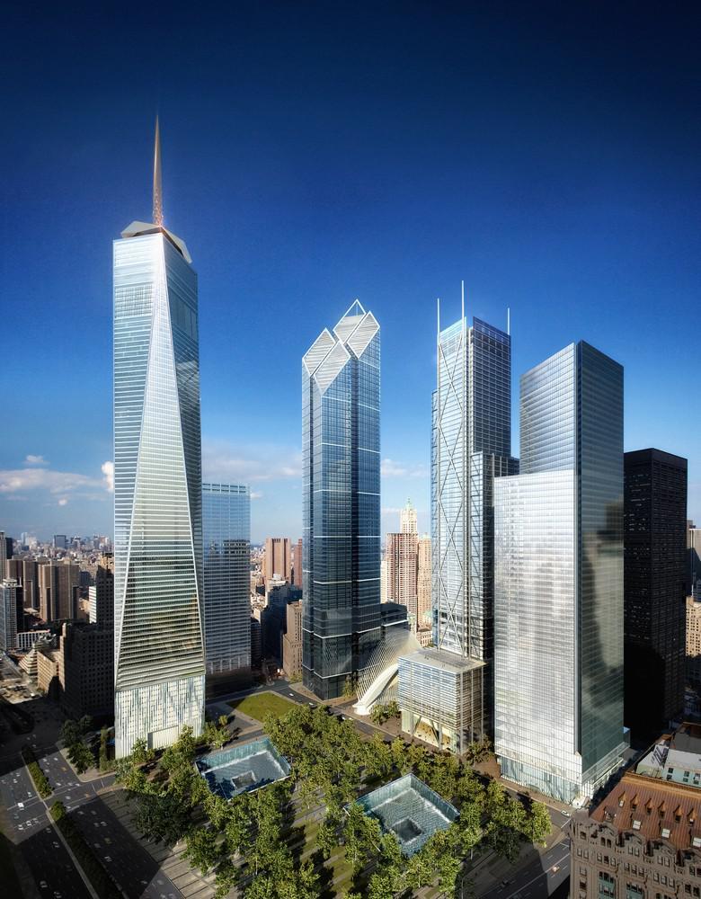 Daniel Libeskind / projekt pro Ground Zero v New Yorku