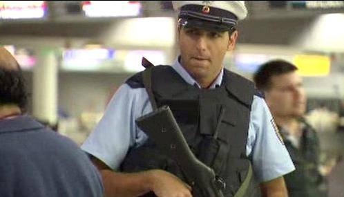 Německá policejní hlídka
