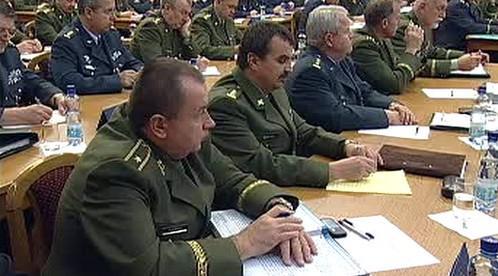 Velitelské shromáždění armády