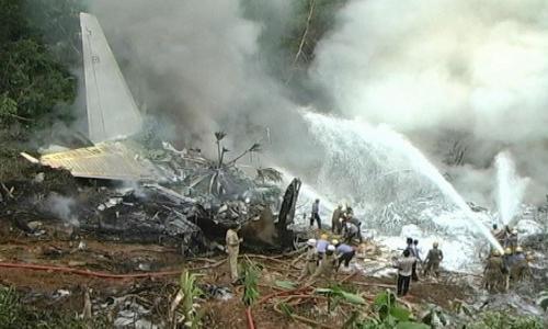 Letecká nehoda v Indii
