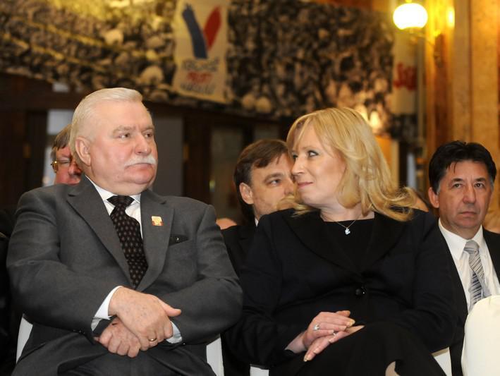Lech Walesa a Iveta Radičová