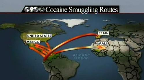 Pašování kokainu z Kolumbie