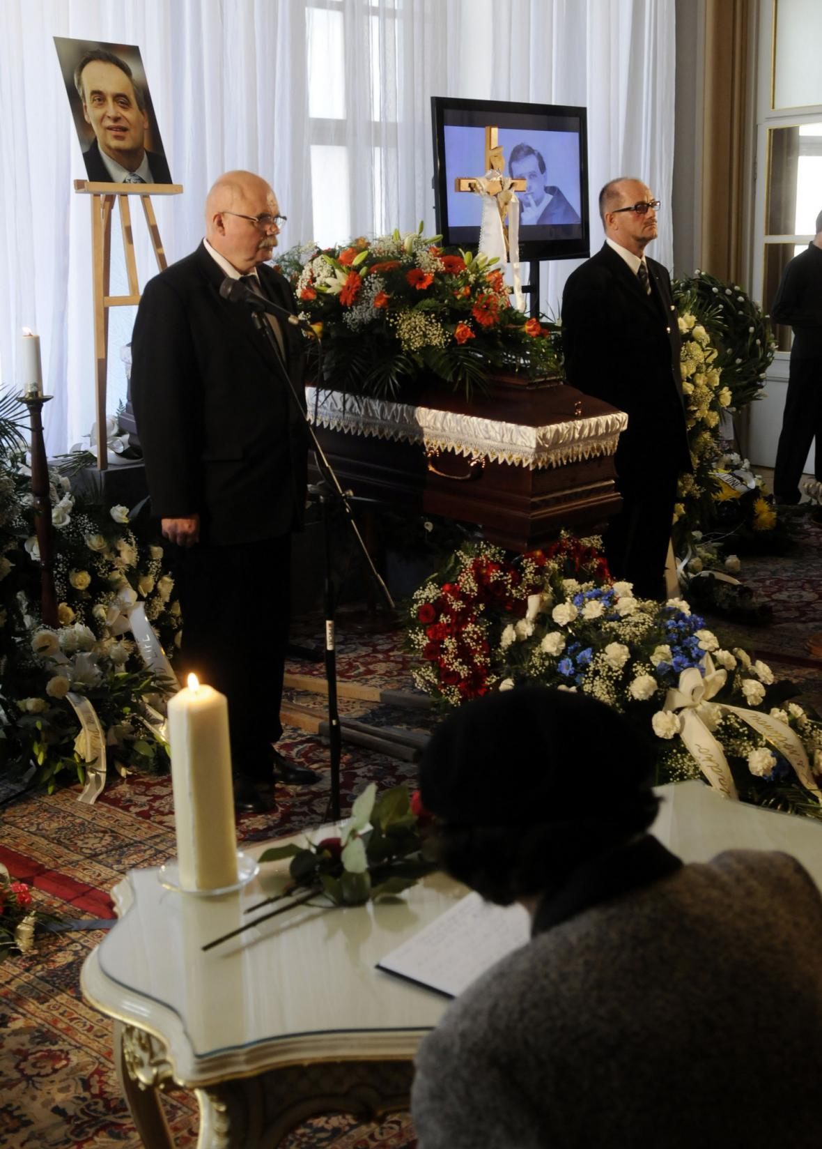 Pohřeb Ernesta Valka