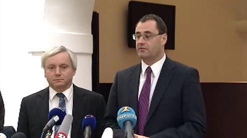 František Laudát a Boris Šťastný