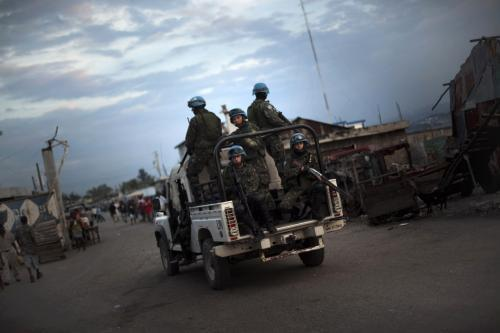 Jednotky OSN na Haiti