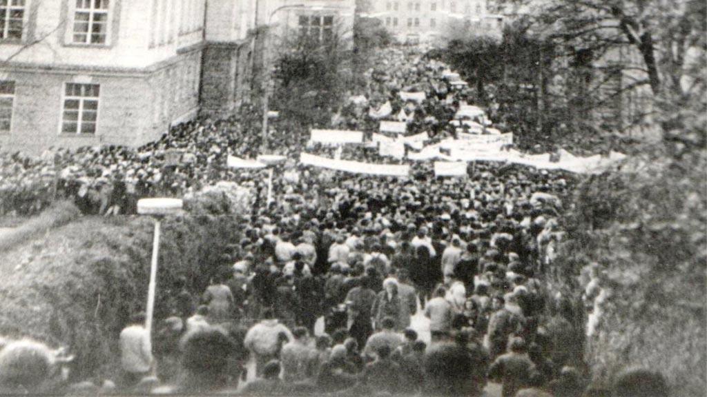 Albertov 17.11.1989