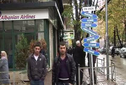 Albánci mohou do EU na návštěvu