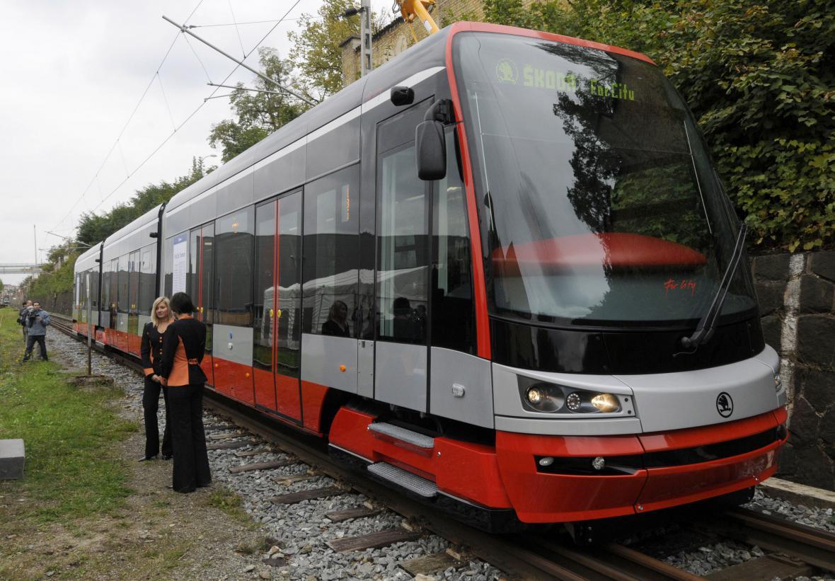 Nová tramvaj Škoda