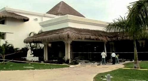 Výbuch v hotelu Grand Riviera Princess