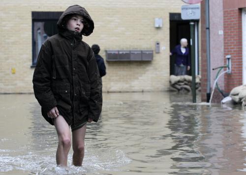 Záplavy v Belgii