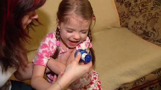 Dítě s diabetem