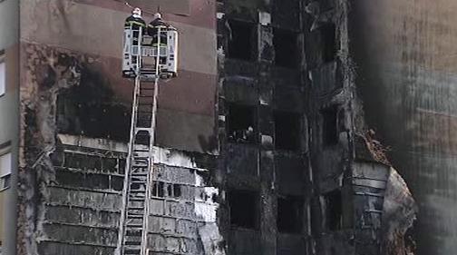 Požár v Dijonu
