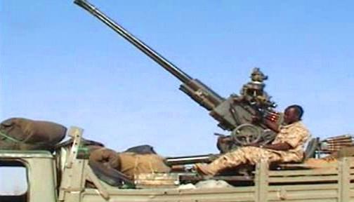 Ozbrojenci v Dárfúru
