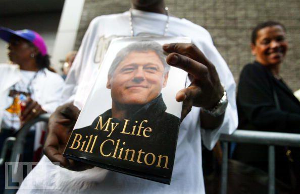 Paměti Billa Clintona