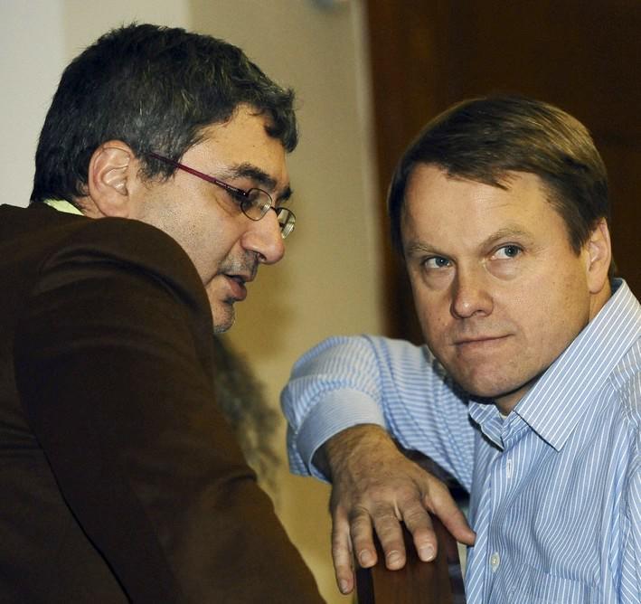 Giuseppe Maiello a Martin Bursík