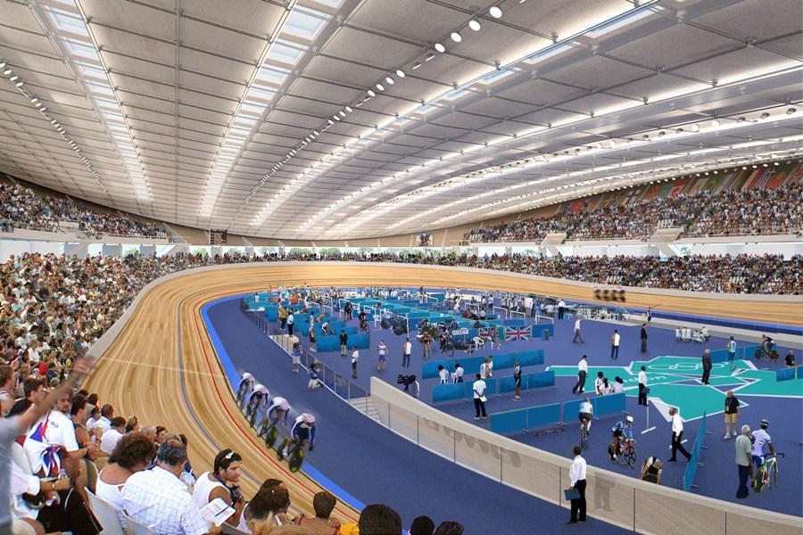 Vizualizace olympijského velodromu