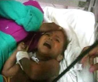Indická holčička Vandana