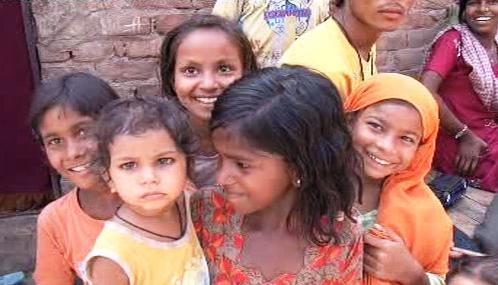 Indické dívky