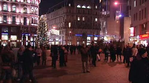 Světelná výzdoba Vídně