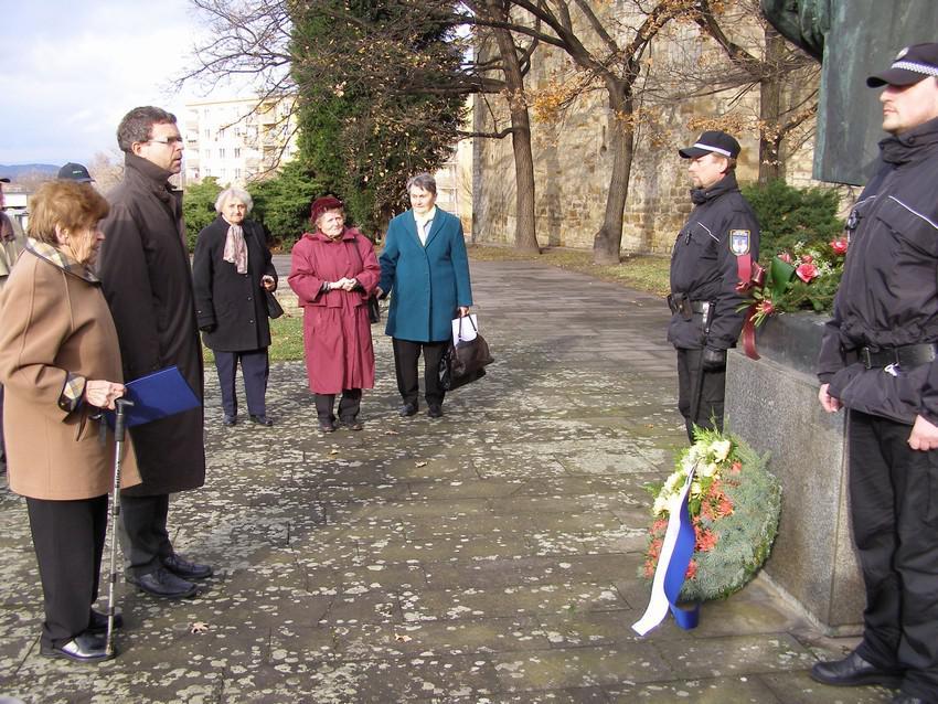 Den válečných veteránů - oslavy v Lounech